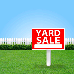 Yard Sale: time 09 till 14 pm in 17 August!