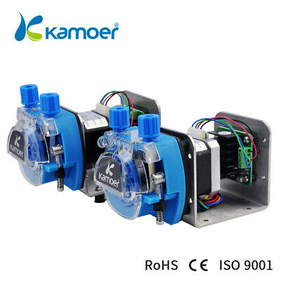 Kamoer Kcm-odm 12v24v Mini Peristaltic Pump Head With Tube Small Flow Stepper