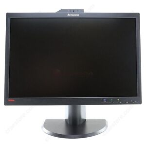 "Lenovo 22"" Widescreen LCD Monitor with Built-in Webcam and Mic"
