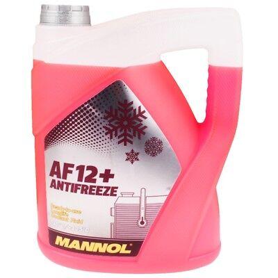 Kühlerfrostschutz Rot G12+ 5 L Mannol Antifreeze AF12+ -40°C Kühlmittel VW Audi ()