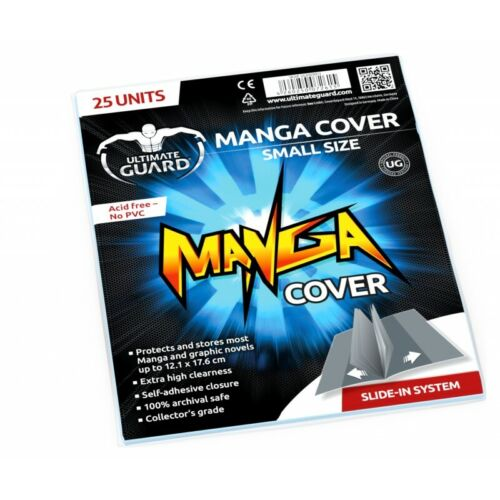 (25-Pack) Ultimate Guard Manga Comic Book Covers SMALL SIZE Archival Safe