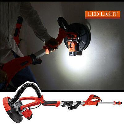 Drywall Sander Adjustable Electric Speed Sanding Pad 750w Led Light Case