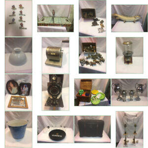 Auction Antiques dolls collectable & furniture closes tonight 8p