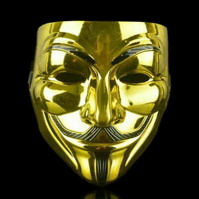 Halloween Edm Parties (V for Vendetta Mask Scary Movie Guy Fawkes Anonymous Halloween Costume Party)