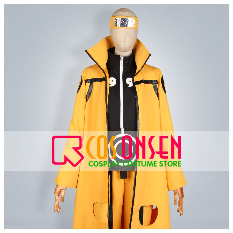 Cosonsen Naruto Six Paths Sage Mode Cosplay Costume Halloween Cosplay All Sizes