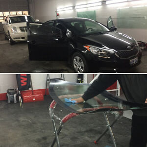 Auto glass & Tinting services, we have affordable prices
