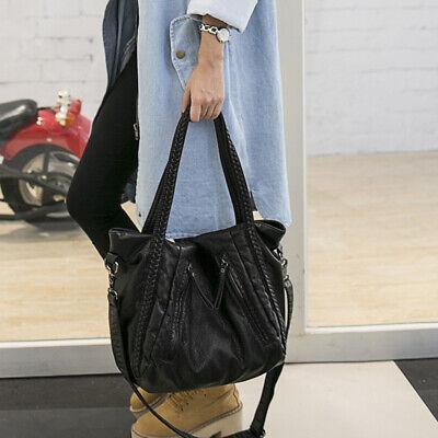 Damen Tasche Shopper Handtasche Beutel Schultertasche Umhängetasche PU - Handtasche Beutel