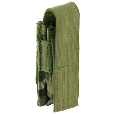 OCP Military Issue MOLLE//PALS Triple Pistol Mag Pouch 9MM 45CAL NEW MULTICAM