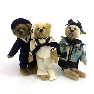 Pickford Bears Plush Brass Button 20th Century Collection Roxy++