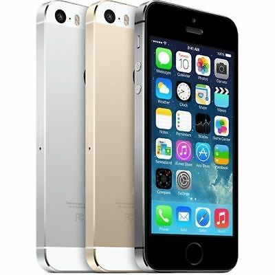 Apple iPhone 5S Factory Unlocked GSM SmartPhone 16GB 32GB Gold Gray Silver](iphone 5s 32gb unlocked new)