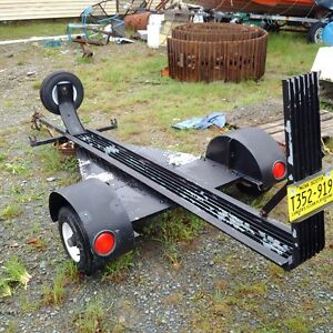 Motor cycle trailer trade for car dolly