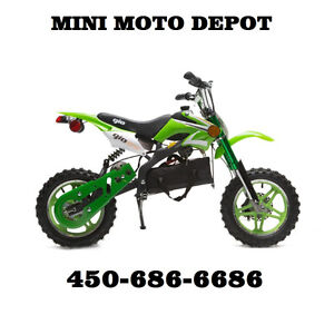 mini dirt bike motocross $429.99!! mini moto depot 450-686-6686