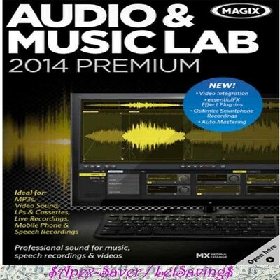 Magix Audio And Music Lab 2014 Premium  Pc      Download