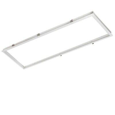 Marco Aluminio Panel LED 120x30Cm