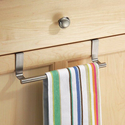Towel Bar Holder Cabinet Hanger Over Door Kitchen Hook Drawer Storage E&FBLCA