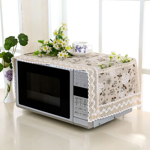 Range Hood Microwave Oven Dust Cover With Storage Bag Kitchen Accessories LJ