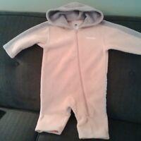fleece suit and splash pants