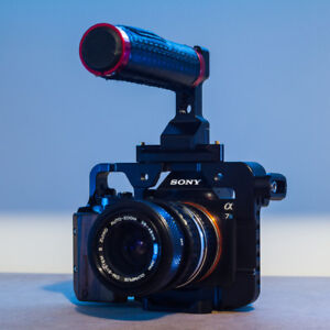 Sony A7s avec cage et extras
