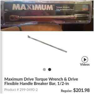 Maximun drive torque wrench