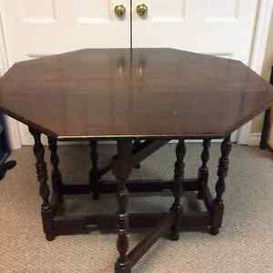 Old Double Drop Leaf Table
