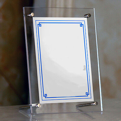 Acrylic Photo Holders - Acrylic Photo Frame Home Clear Picture Office Certificate Display Holder Decor