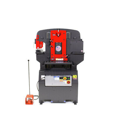 Edwards 40231010 40 Ton Ironworker New