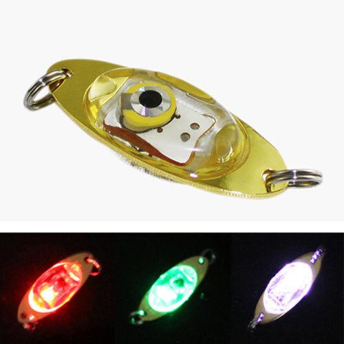Htipdfg Fischen-Licht Tiefer Tropfen-Fischen-Licht Multi Color Unterwasser zum Anlocken von Fischen Indicator Lure LED-Fischen-Blitz-Licht-K/öder Dropshipping Emitting Color : 12cm Blue