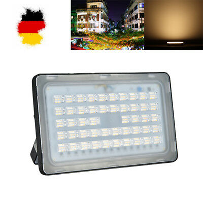 150W LED Fluter Scheinwerfer Flutlicht Außen Strahler Warmweiβ Lampe Floodlight