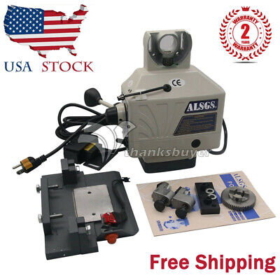 Alsgs 110v 220v Power Feed For Vertical Milling Machine X Y Axis Al-310sx Us