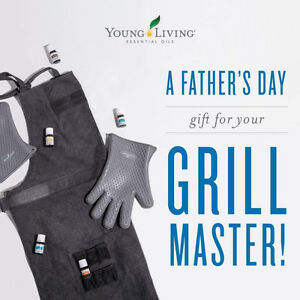 Father's Day Gift! Grilling Apron, mitts  & BBQ Essential Oils