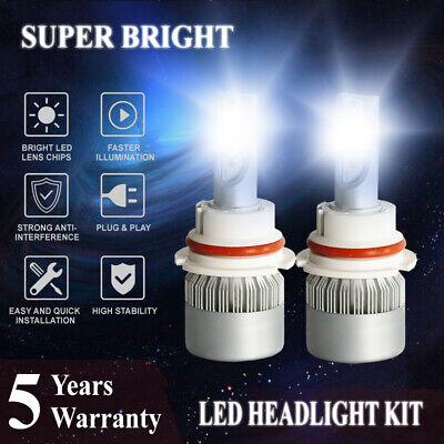 9007 HB5 3200W 480000LM Car LED Headlight Conversion Kit 6000K Hi/Lo Bulbs Light