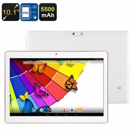 Android Tablet - 16 GB -Quad-Core CPU, 10.1 WiFi, 5500mAh Battery, 32GB ROM