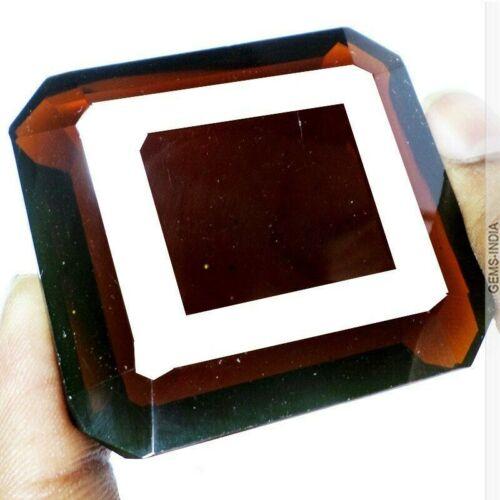 Large 440 Carats Rare Hydro Garnet Octagon Emerald Cut Loose Faceted Gemstone