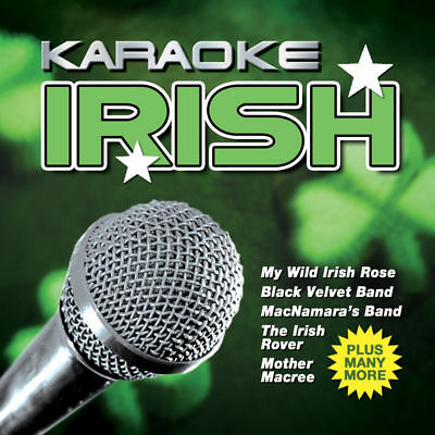Karaoke Irish CD - Classic Irish Sing-along songs - backing tracks - Fun