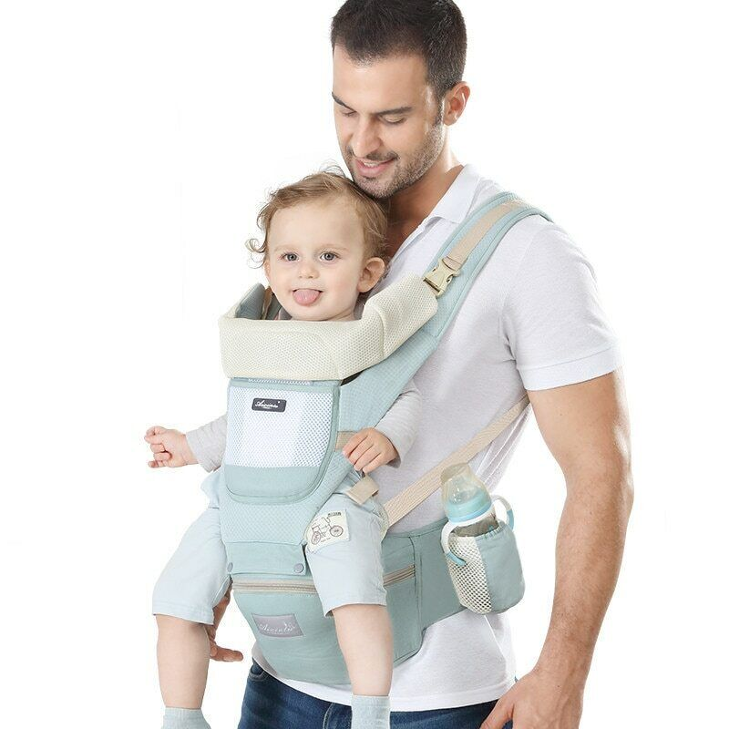 FRONT FACING Baby Carrier Hip-seat Sling Wrap Travel Infant