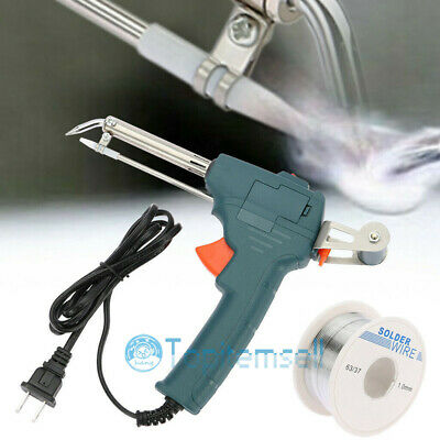 Manual Soldering Gun Electric Iron Automatic Soldering Machine Kit Tool 110V USA