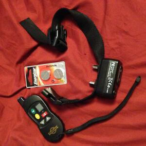 Pet safe remote dog training collar