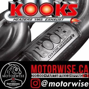 Kooks Headers & Exhaust | Shop & Order Directly Online at www.motorwise.ca | Free Shipping Canada Wide