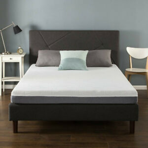 NEW, NEVER USED - ZINUS TWIN (SINGLE) MATTRESS