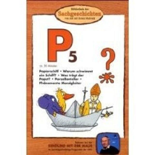 """BIBLIOTHEK DER SACHGESCHICHTEN """"P5 PAPIERSCHIFF..."""" DVD"""