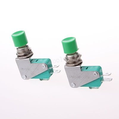 Ac 125v 15a Push Button Actuator Spdt No Nc Momentary Miniature Micro Switch