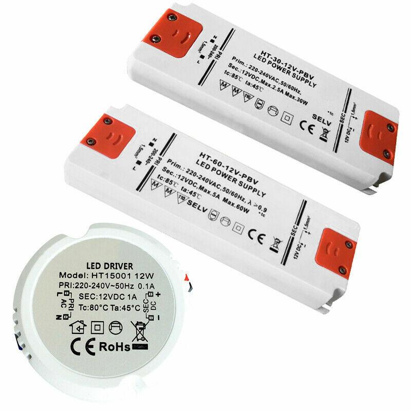 LED Trafo Transformator 6W-30W LED Treiber Netzteil 12V DC G4 MR11 MR16 Lampen