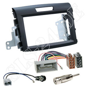 Honda CR-V ab 11/2012 Doppel-DIN Radioblende KFZ Autoradio ISO Adapter Einbauset
