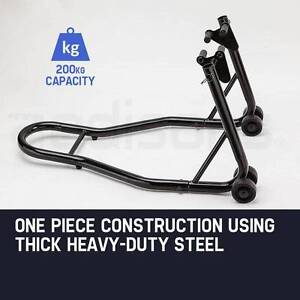 Front Motorcycle Stand Heavy-Duty Motorbike Lift Paddock Carrier Prospect Vale Meander Valley Preview