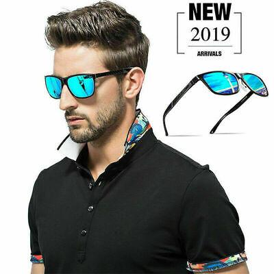 Herren Polarisierte Sonnenbrillen Retro Ultraleicht Auto Radfahren Skibrille DE
