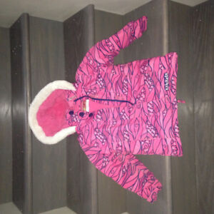 Toddler size 3T winter coat