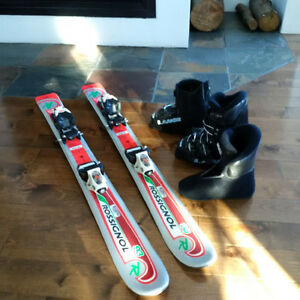 Ski junior Rossignol Edge 93 cm avec Comp Kid fixation