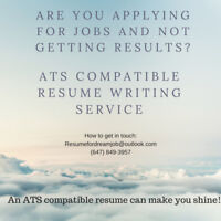 Guarantee* an interview with ATS friendly resume