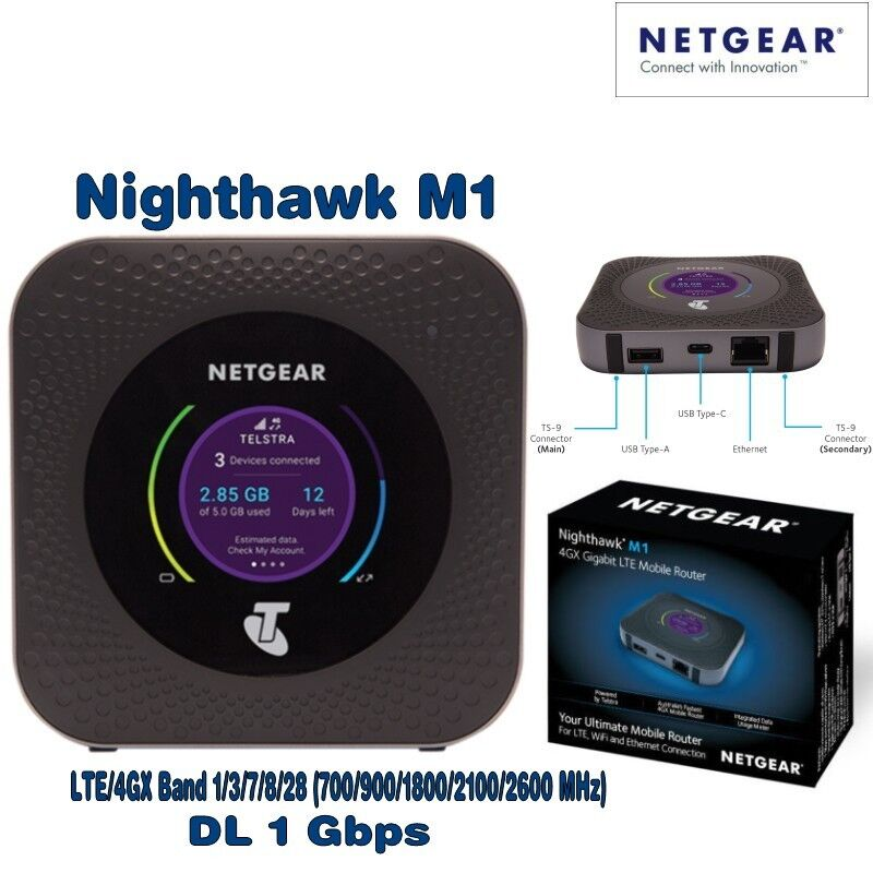 wifi router unlocked netgear m1 nighthawk mr1100 4g. Black Bedroom Furniture Sets. Home Design Ideas