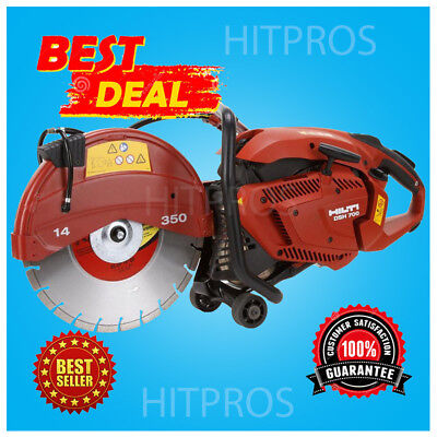 Hilti Dsh 700 14 Gas Cut Off Saw Brand New Free 14 Blade Fast Shipping